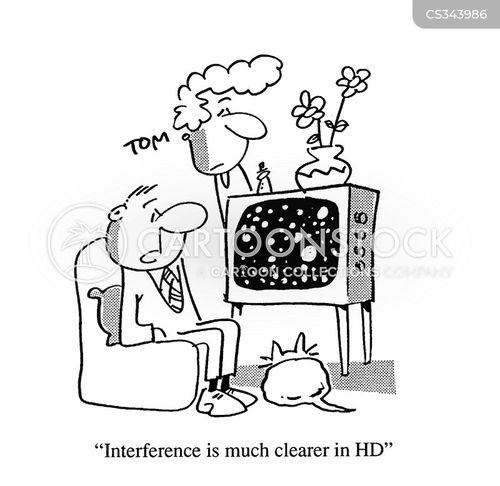 hdtv cartoon