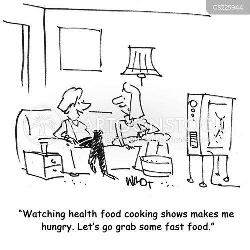 food tv programmes cartoon