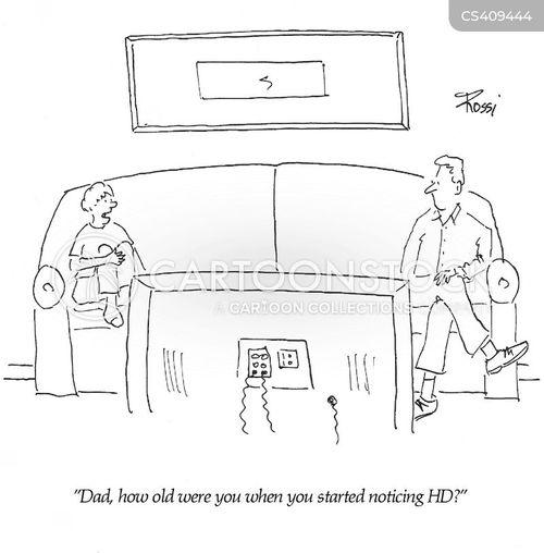 hi-def cartoon