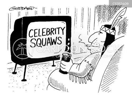 celebrity squares cartoon