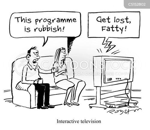 red button cartoon