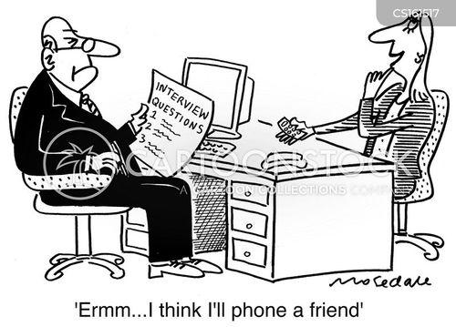 phone a friend cartoon