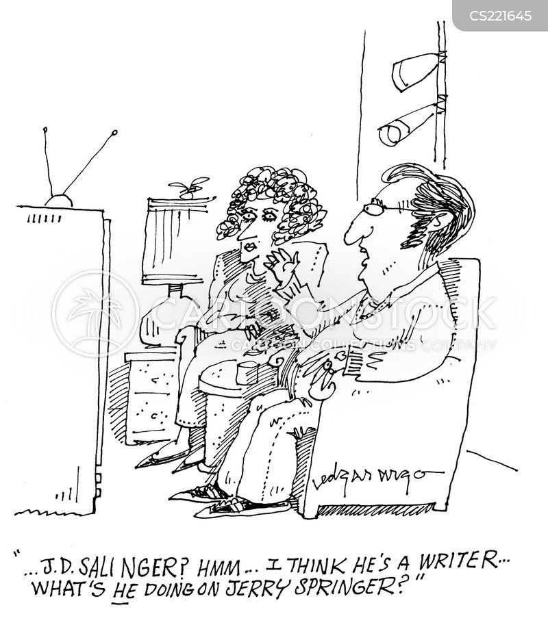 Salinger cartoons, Salinger cartoon, funny, Salinger picture, Salinger pictures, Salinger image, Salinger images, Salinger illustration, Salinger illustrations