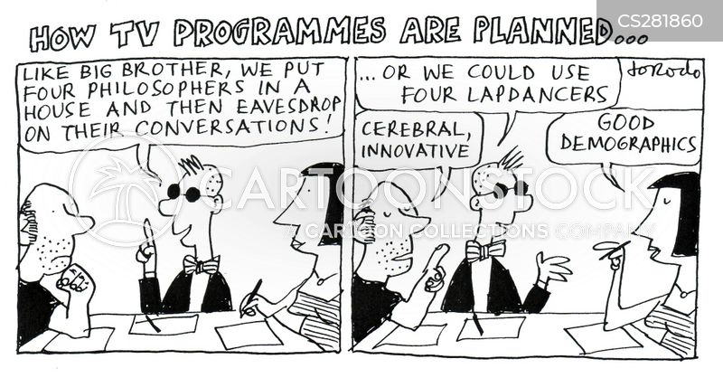 television programme cartoon