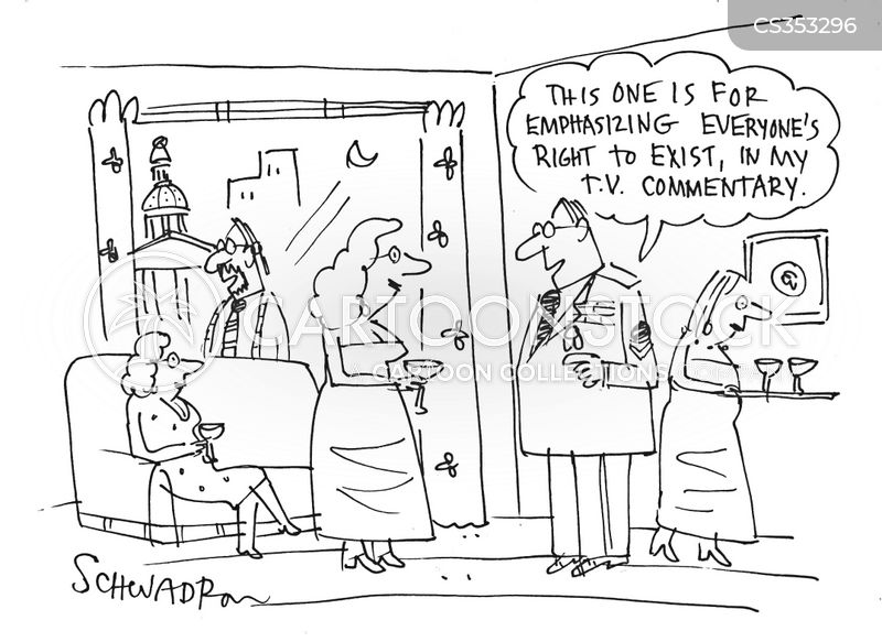 decorated officer cartoon