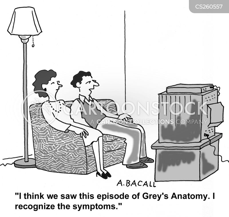 greys cartoon