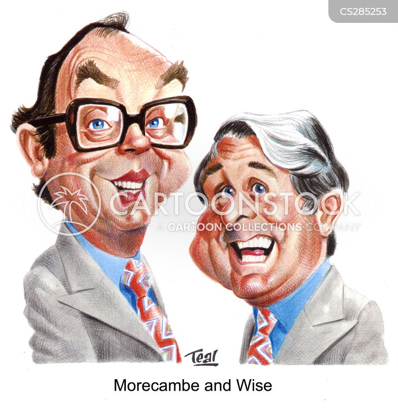 eric morcambe cartoon