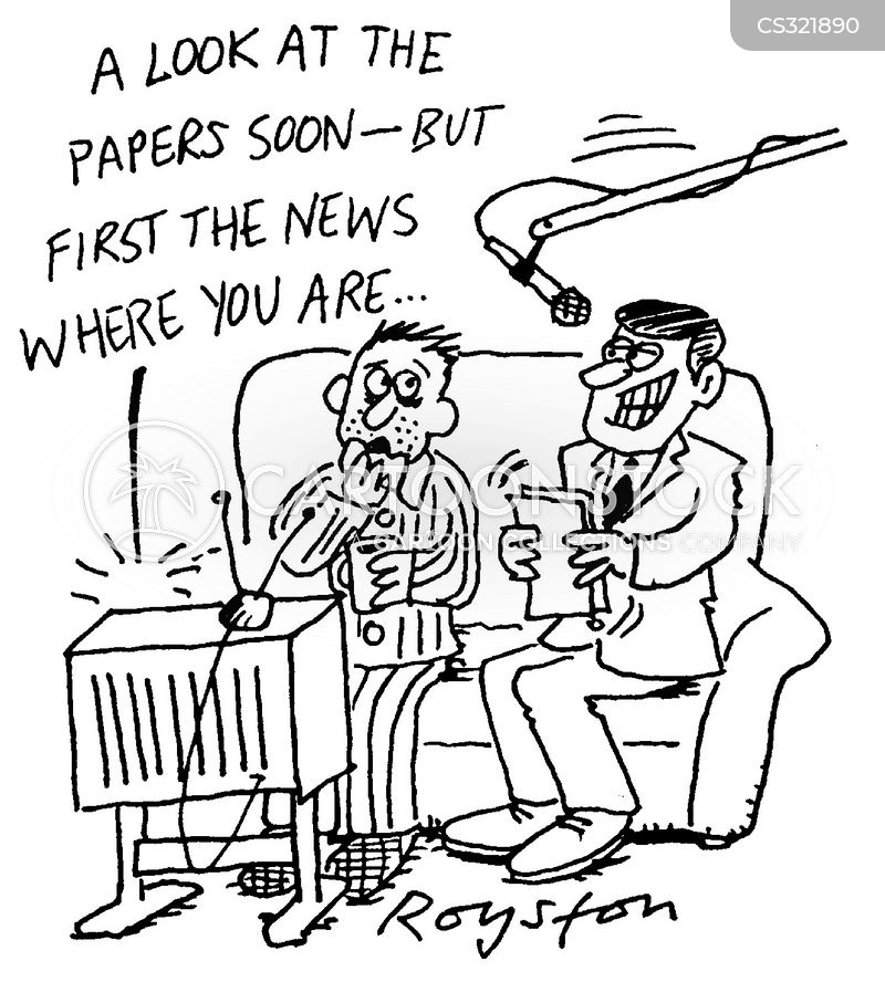 regional news cartoon