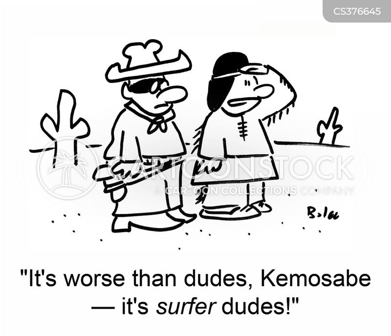 kemosabe cartoon