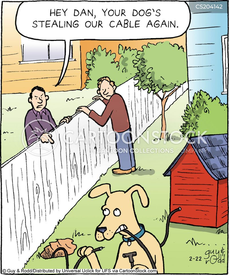 cable tv cartoon