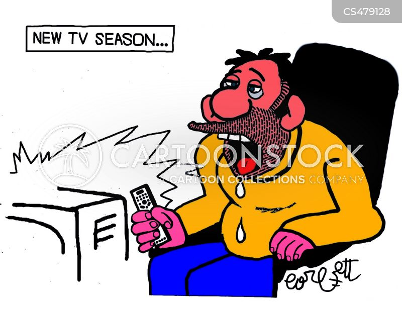 tv critic cartoon