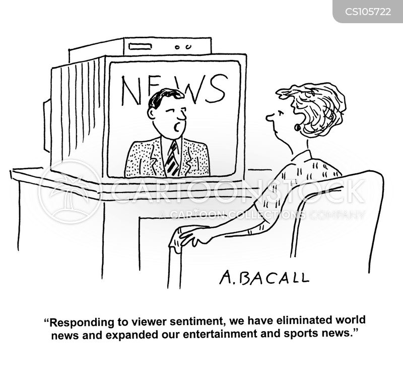 news bulletin cartoon