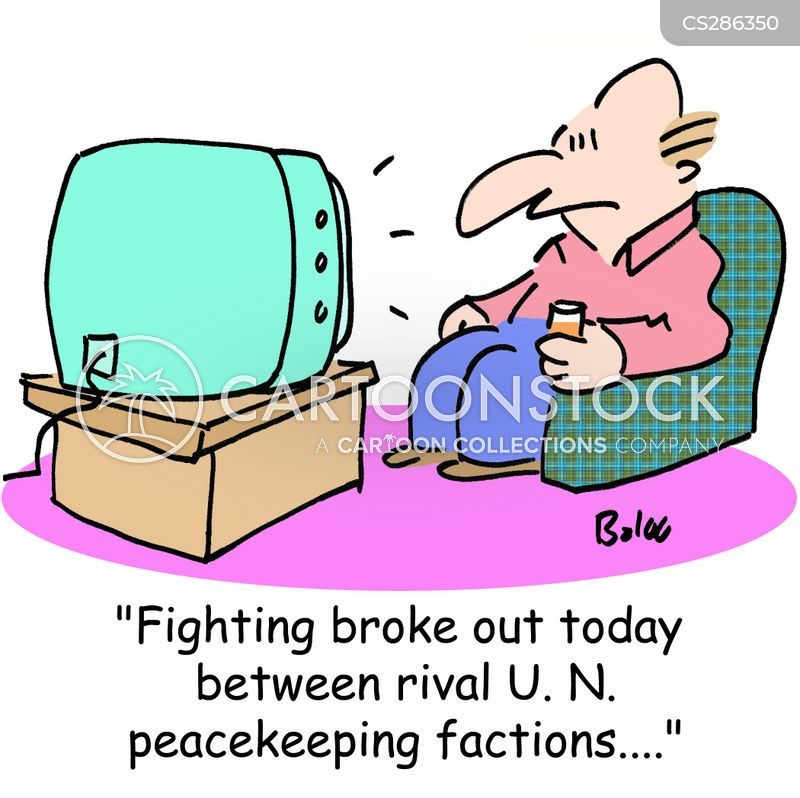 peacekeeping cartoon