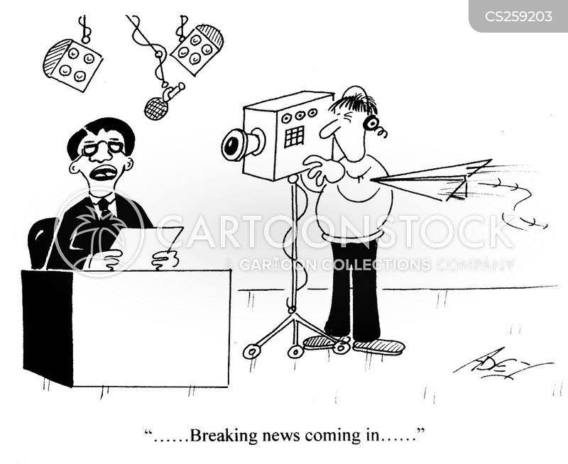 newsflash cartoon