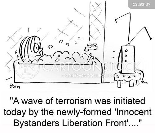 innocent bystander cartoon