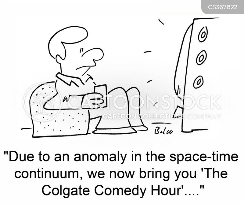 space-time cartoon