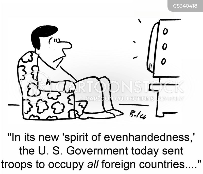 evenhandedness cartoon