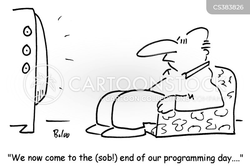 end of the day cartoon