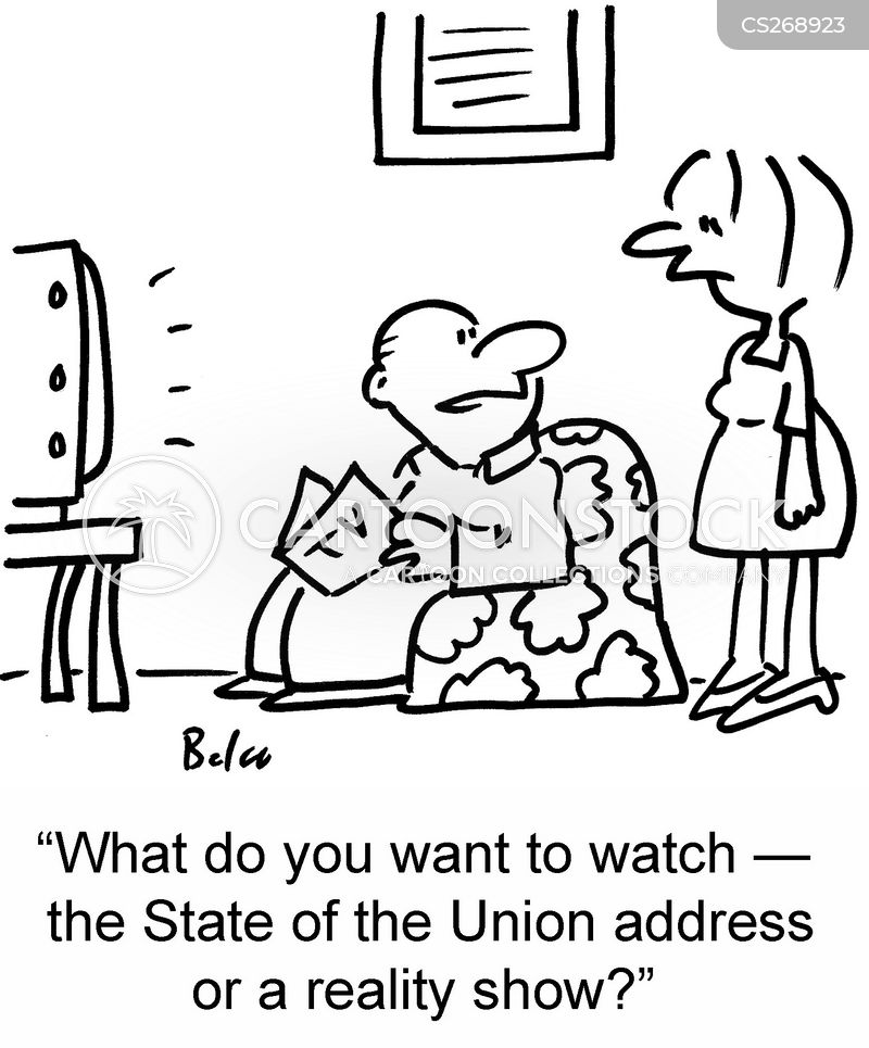 state of the union cartoon