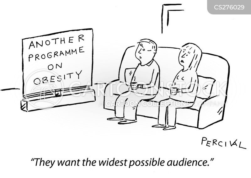 wide audience cartoon