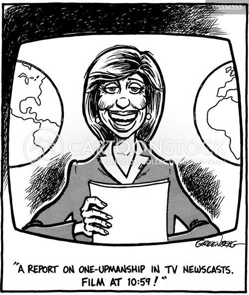 newscasts cartoon