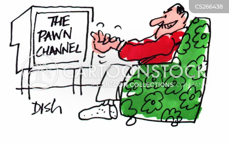 pawning cartoon