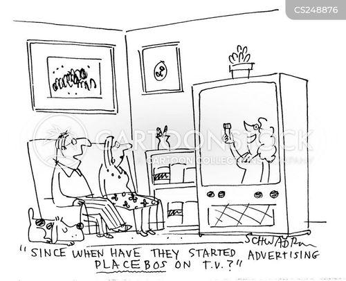 drugs advert cartoon