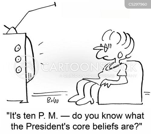 core beliefs cartoon