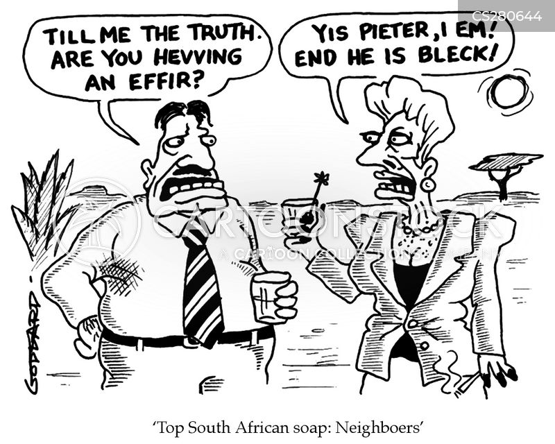 apartheid cartoon