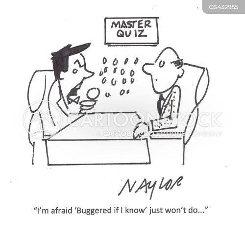 wrong answers cartoon