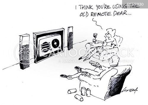 wide screen cartoon