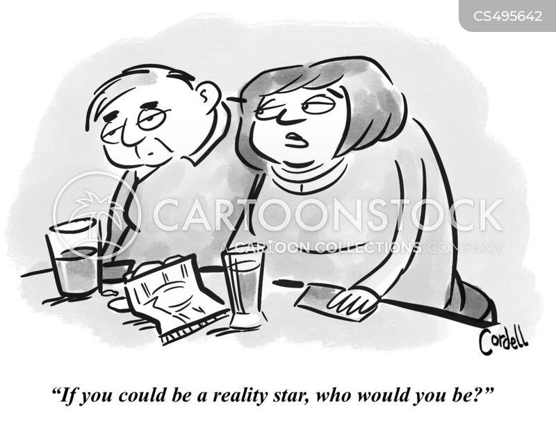 reality stars cartoon