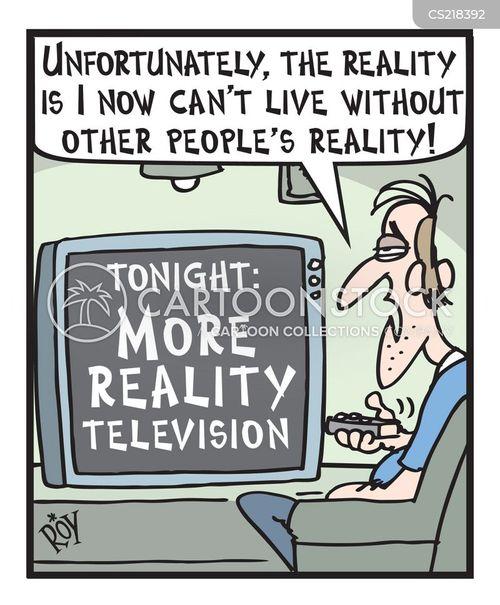 reality programme cartoon