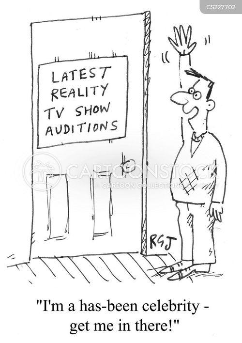 reality tv show cartoon