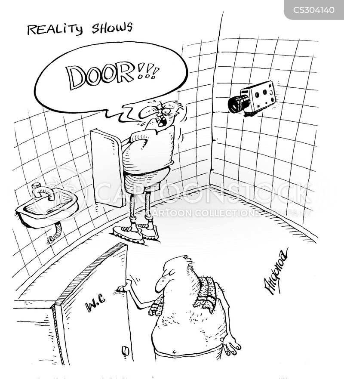 hidden camera cartoon