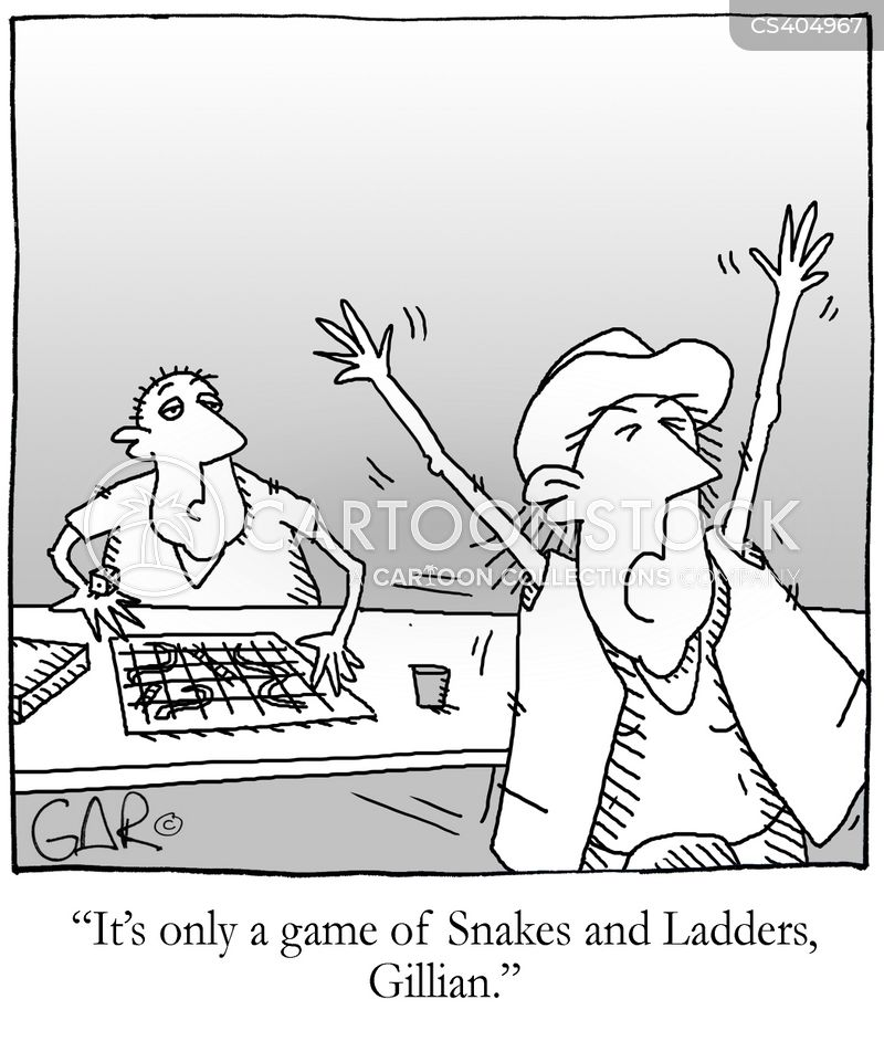 snake phobia cartoon