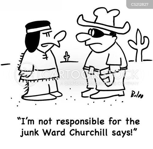 held responsible cartoon