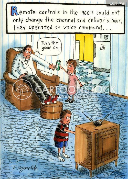 voice command cartoon