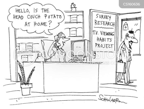 viewing habit cartoon