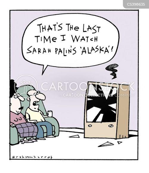 alaskan governor cartoon