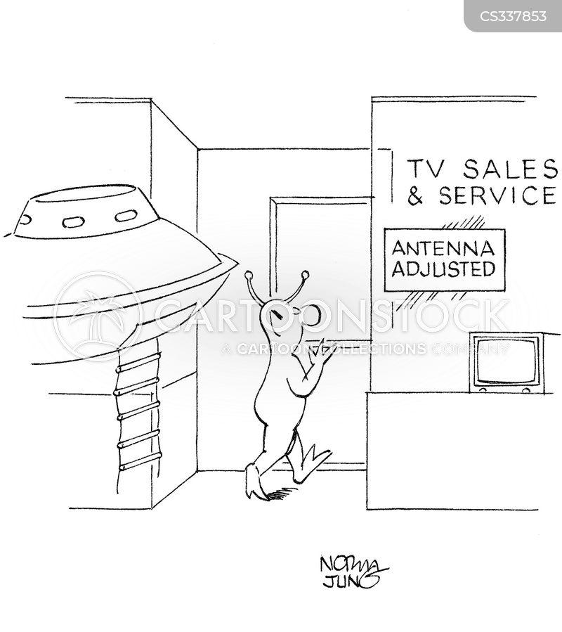 tv sales cartoon