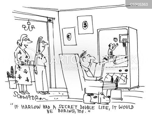 secret lives cartoon