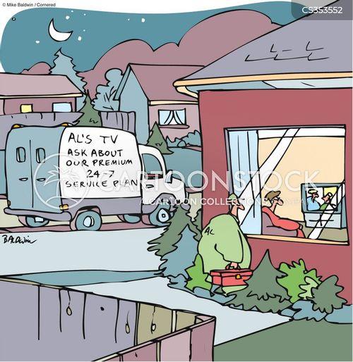 extended warranties cartoon