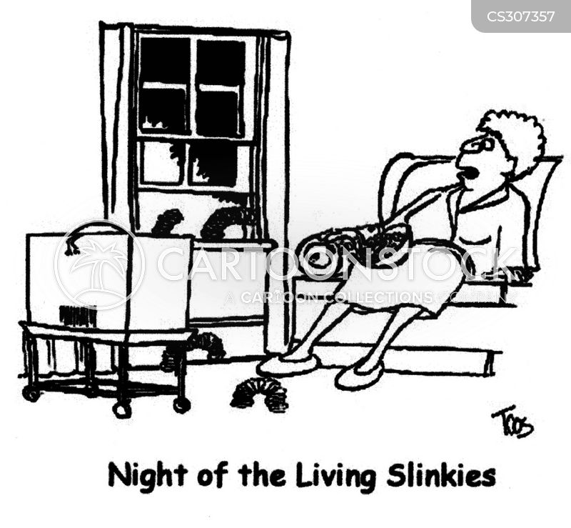 slinkies cartoon
