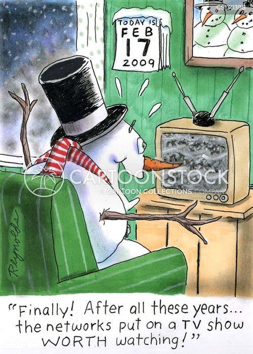 bad reception cartoon