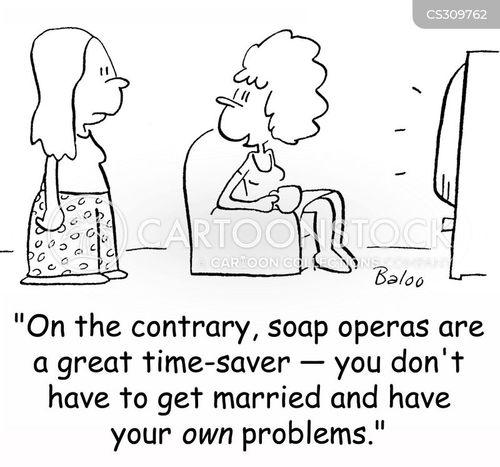 time saver cartoon
