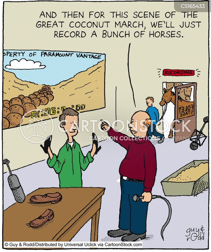 records cartoon