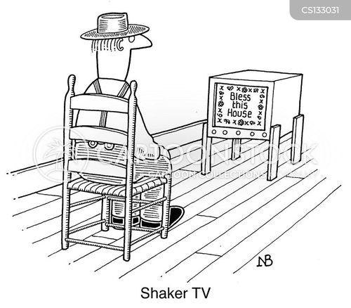 quaker cartoon