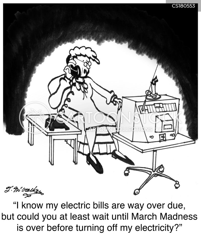 utility bills cartoon