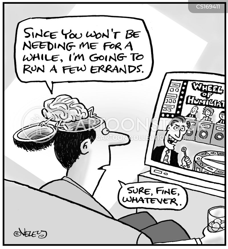 brain dead cartoon